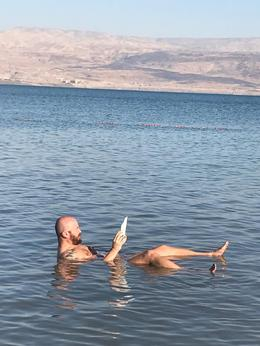 Dead Sea - Kalia Beach , Tiberiu C - February 2017