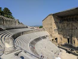 The Roman amphitheater. , Lynne A - June 2017