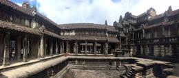 A panorama, at the top of the temple. , Shirls - October 2014