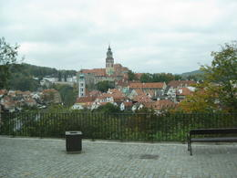 This was our first sight of this beautiful city. Very quaint and quiet compared to Prague. , Crystal W - October 2014