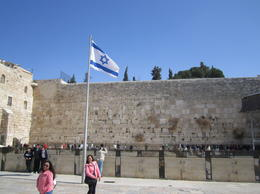 Jerusalem's western wailing wall. , Duane V - March 2014