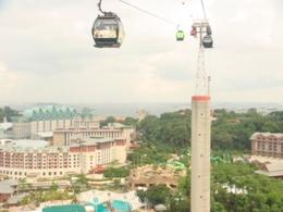 View from Skyride , DINH CUONG V - July 2012