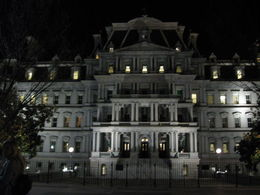 Walked from White House past Eisenhower Building to bus , kokua_travel - April 2015