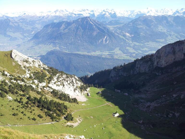 From the top of Mount Pilatus - Zurich