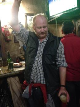 This is the first tapas bar you go to, where you get to try the cider from the Basque region, including pouring it from a great height (James shows you and then it's your go!) , Donna W - December 2014
