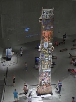 Last Pilar die is weggehaald van Ground Zero. Zéér indrukwekkend. , Ingrid E - August 2014