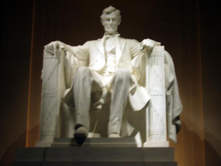Lincoln at Lincoln Memorial - Washington DC