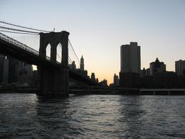 View of one of the bridges during the sun beginning to set., Alana C - August 2008