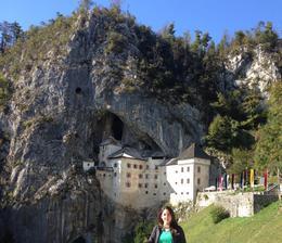 Visiting Predjama Castle - November 2016