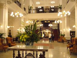 Main Entrance to Raffles Hotel., Roger R - February 2009