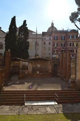 This is Old Rome, on the Jewish ghetto tour. , Cherie B - August 2015