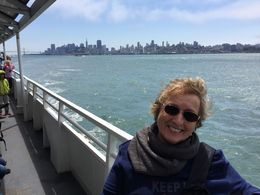 Returning from Alcatraz to San Francisco , Diana R - August 2016