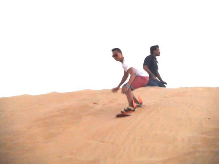 Sand Boarding - Dubai