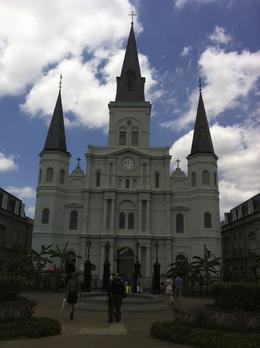 One of the point of interest was the St. Louis Cathedral if you love old churches and architecture. Right outside the church grounds, we were able to enjoy the sounds of old New Orleans jazz and ... , Holly R - May 2013