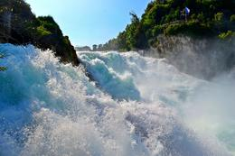 The broadest waterfall of Europe. Made full use of wide angle lens! , Vijay - September 2012