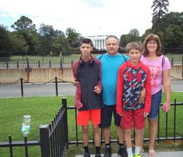 This is as close as you can get to the White House these days. , Sharon S - September 2016