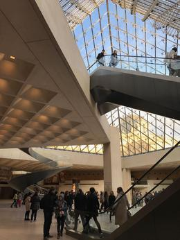 In the Louvre under the Pyramid. , Alan H - February 2017