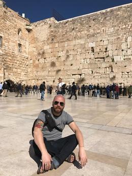 Jerusalem - West Wall , Tiberiu C - February 2017