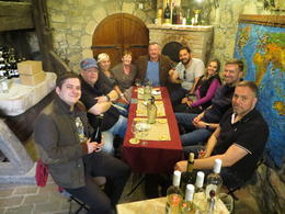 Denis shared his knowledge and wonderful wines with us! , Christina M - March 2017