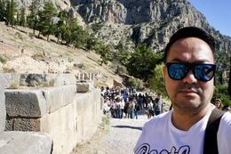 Delphi : Temple of Apollo , Ariel G - October 2017