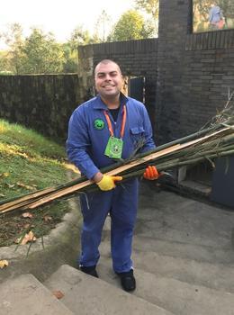 Delivering bamboo to pandas , Matthew C - November 2017