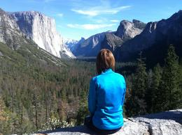 A view to never forget, words can't describe the sheer beauty of Yosemite , Katherine S - February 2018