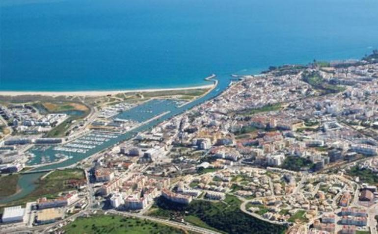 Aerial view - The Algarve
