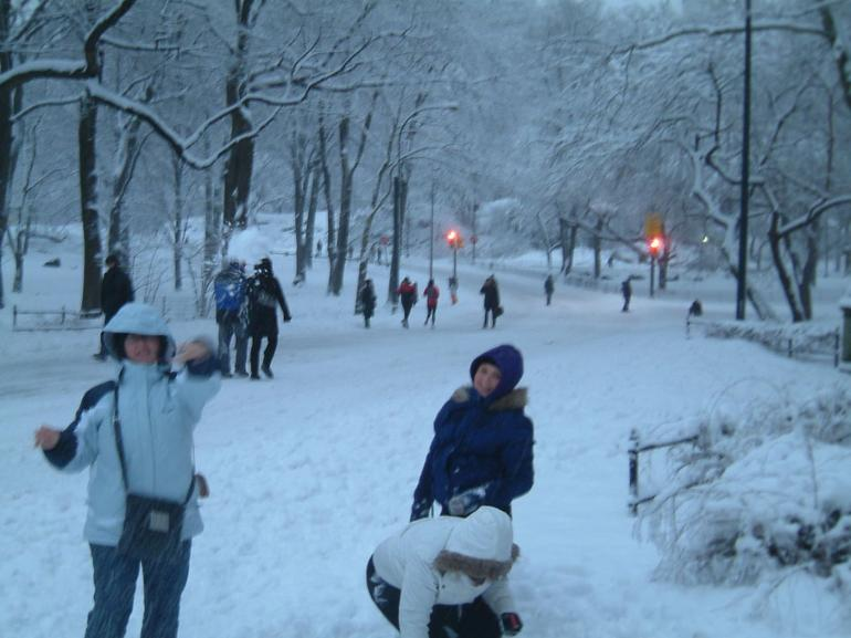 Central Park in Feb - New York City
