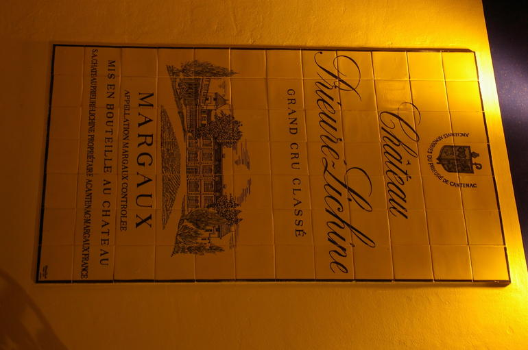Chateau label - Bordeaux