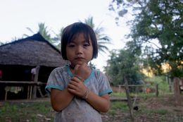 People of Ko Tha have their own language, they don't speak Thai. When children saw my camera they would pose and dance in front of me, and come over to see the pictures on camera screen - it was..., Artur D - November 2015