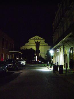 View of the St. Louis Cathedral during the Ghost Tour, yaner12 - September 2010