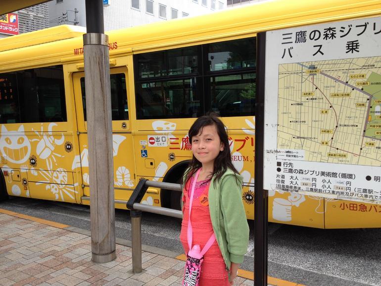 Ghibli bus!!! - Tokyo