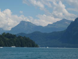 On Lake Luzern , Reba A - July 2012