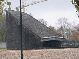 This memorial is made from black ash from Jersuleum., Juanita E - November 2009