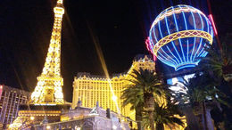 On the strip at night - January 2015