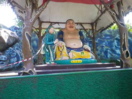 One of the Gods in Haw Par Villa , Marcia G - July 2011