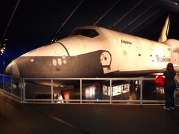Inside the Shuttle Exhibit at the Aeronautic Space Museum. Worth seeing! , gmchauvin - September 2013