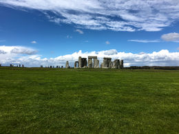 Loved the juxtaposition of Stonehenge against the blue sky! , Michael H - June 2016