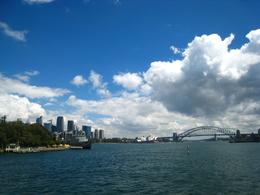 From the Sydney Tower, to the CBD and Opera House, and finally Sydney Bridge! Can't get any better view! - March 2010