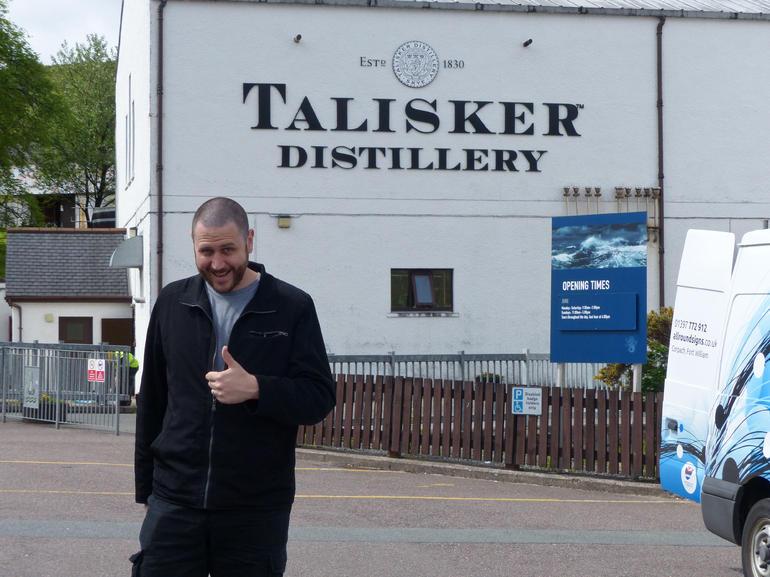 talisker distillery - Edinburgh