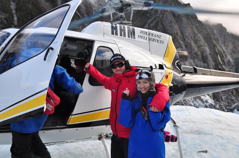 The Helicopter! - Franz Josef & Fox Glacier