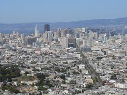 The skyline is spectacular from Twin Peaks. Photos can't do it justice. It is apparently often foggy in summer, but in spring it was a glorious day., Judith S - April 2008