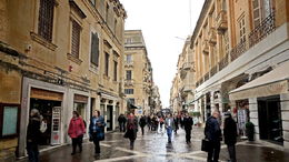 Typical Valetta street , C S - May 2015