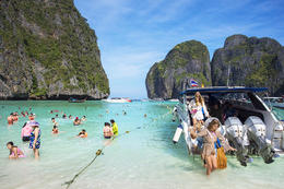Speedboat ride from Krabi to Koh Phi Phi for a tour of Thailand's most beautiful and well-known islands., Viator Insider - January 2018