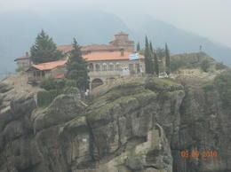 Meteora Monastery , Emilie N - December 2016