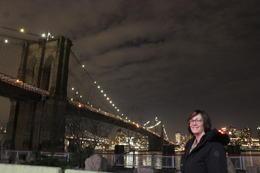 Standing by the Brooklyn Bridge. , Scott W - February 2017