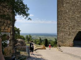 Ruins of the Pope's summer Palace Châteauneuf-du-Pape , Lynne A - June 2017