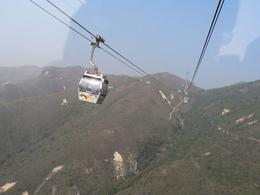 View from Cable Car, Lantau, on tour by Anthony Partridge, Anthony P - December 2009