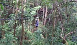 Ziplining , Marnie Thao N - July 2014