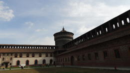 Inside Castello Sforzesco, it was used to guard the castle. , RAHUL S - April 2013